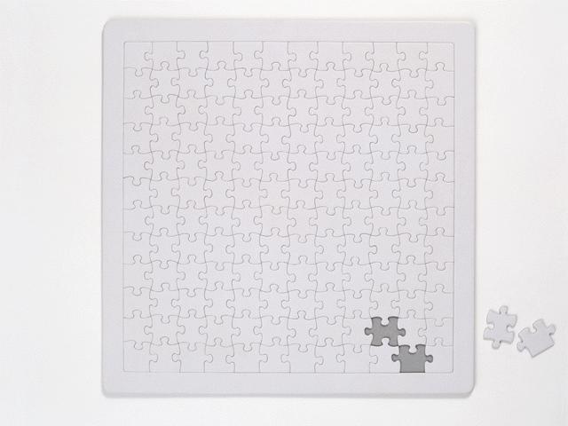 パズルをうめる